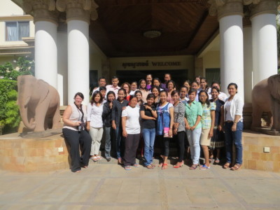 Banteay Srei holds 6 monthly staff meeting to evaluate progress on projects and strategic plan going forward