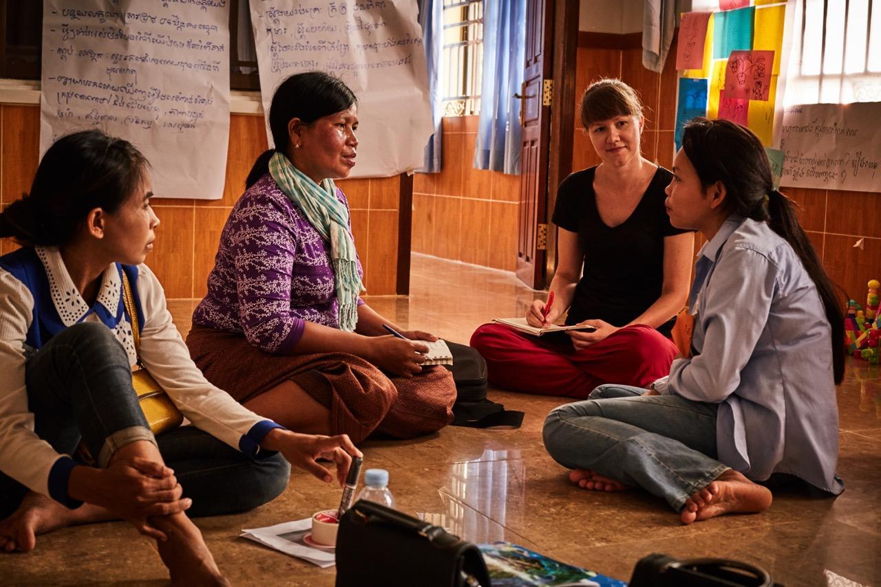 Leadership training for women